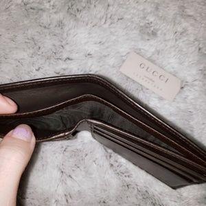 Gucci Bags - GUCCI Mens/unisex Bi-fold wallet